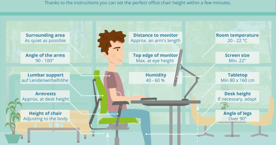 work healthier with our guide on ergonomics.